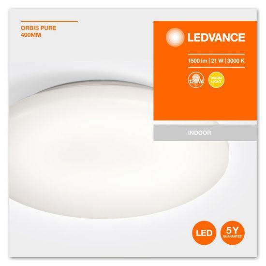 LEDVANCE LED Orbis stropno svjetlo, 21 W, 400 mm, 3000 K