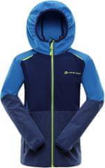 ALPINE PRO fantovska softshell jakna Lusk, 9, 128/134, modra