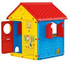 DOLU zabawkowy domek z okiennicami
