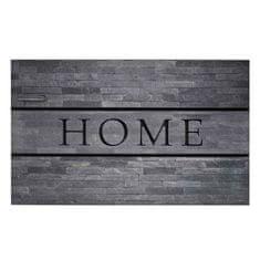 FLOMA Venkovní čistící vstupní rohož Residence Home Stones - délka 45 cm, šířka 75 cm a výška 0,9 cm