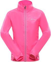 ALPINE PRO dívčí bunda MIMOCO 4 116 - 122, růžová