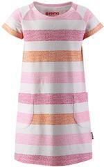Reima dívčí šaty Athens 116 růžová