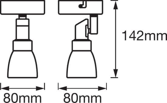 LEDVANCE LED svetilo SPOT 1x2W, 2700K, G9