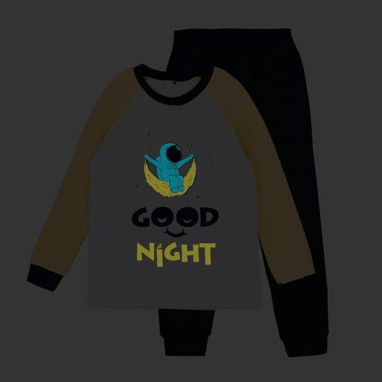 Garnamama dětské pyžamo s potiskem svítícím ve tmě