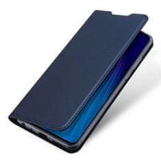 Dux Ducis Skin Pro usnjeni flip ovitek za Xiaomi Redmi Note 8T, modra