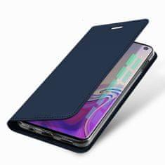Dux Ducis Skin Pro usnjeni flip ovitek za Samsung Galaxy S10e, modra