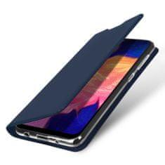 Dux Ducis Skin Pro knjižni usnjeni ovitek za Samsung Galaxy A10, modro