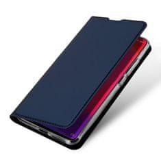 Dux Ducis Skin Pro usnjeni flip ovitek za Xiaomi Mi 9T / Mi 9T Pro, modra