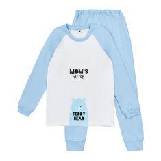 Garnamama chlapecké pyžamo s potiskem svítícím ve tmě 86 modrá