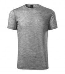 Malfini Pánské merino tričko Malfini Premium Merino Rise 157 tmavě šedý melír L