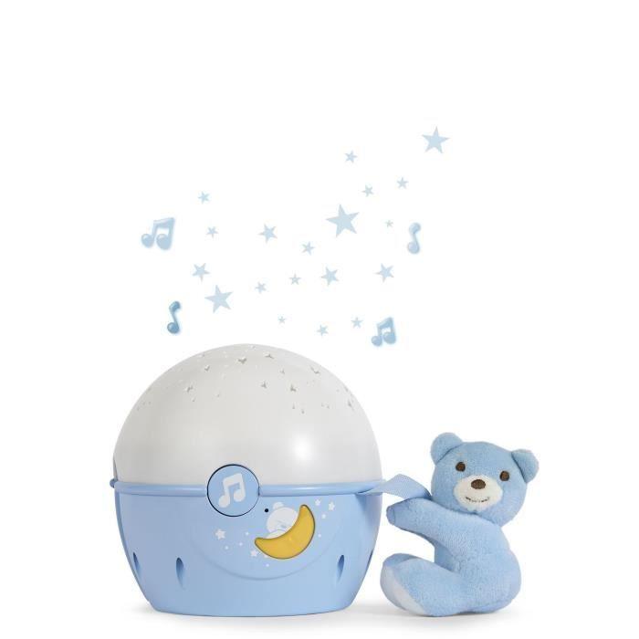 Chicco projektor s melodií Next 2 Stars - medvídek, modrá barva