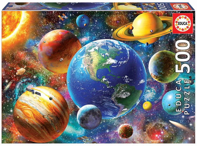 Educa Puzzle 500 dílků Solar System