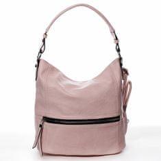 Romina & Co. Bags Dámska pohodlná koženková kabelka Jules ružová