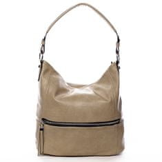 Romina & Co. Bags Dámska pohodlná koženková kabelka Jules zemitá