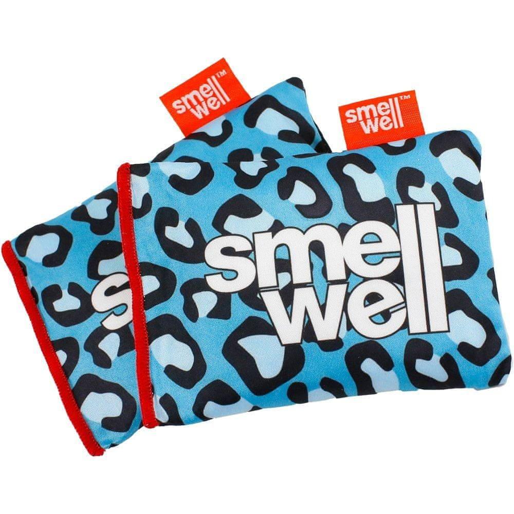 Deodorizér SmellWell Blue Leopard Modrá