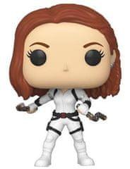 Figurka Marvel - Black Widow (White Suit) (Funko POP! Marvel 604)