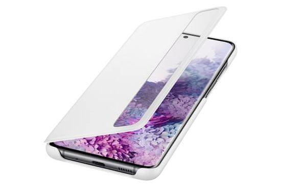 Samsung Clear View preklopna torbica za Samsung Galaxy S20+, bela (EF-ZG985CWE)