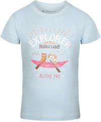 ALPINE PRO AXISO 3 fantovska majica, 104 - 110, svetlo modra