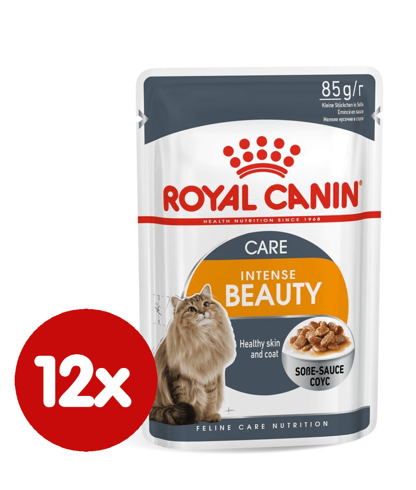 Royal Canin Intense Beauty Gravy 12x85 g