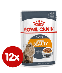 Royal Canin Intense Beauty Gravy, 12x85 g