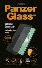 PanzerGlass Case Friendly Privacy zaščitno steklo za Samsung Galaxy S20+, črno