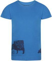 ALPINE PRO NEJO 2 fantovska majica, 104 - 110, modra