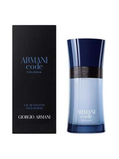 Armani Code Colonia toaletna voda, 50 ml