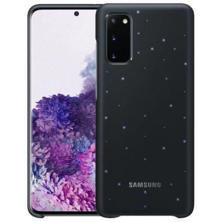 Samsung LED ovitek za Samsung Galaxy S20, črn (EF-KG980CBE)