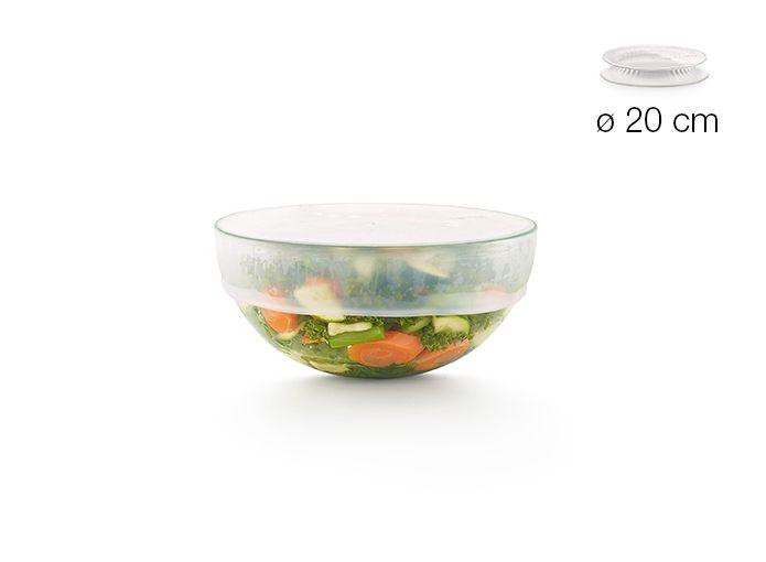 Lékué Silikonové víčko na potraviny a nádobí Lékué Kit Reusable flexible lids ø 20 cm