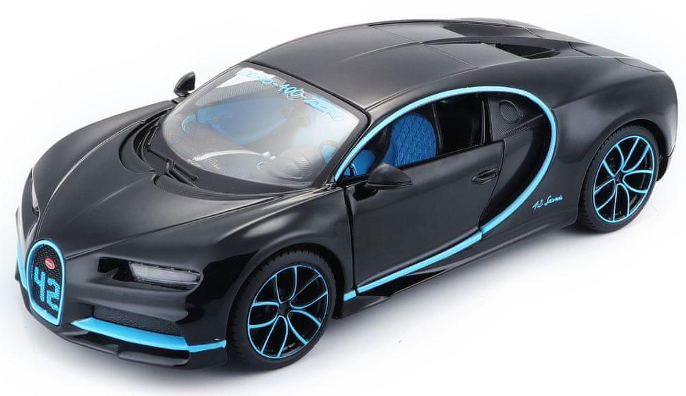 Maisto Bugatti Chiron 1:24 - černá