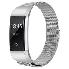 BStrap Fitbit Charge 2 Milanese (Large) szíj, Silver