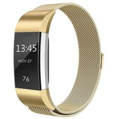 BStrap Fitbit Charge 2 Milanese (Large) szíj, Gold