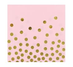 GoDan Papierové servítky ružové 33x33cm - 12ks