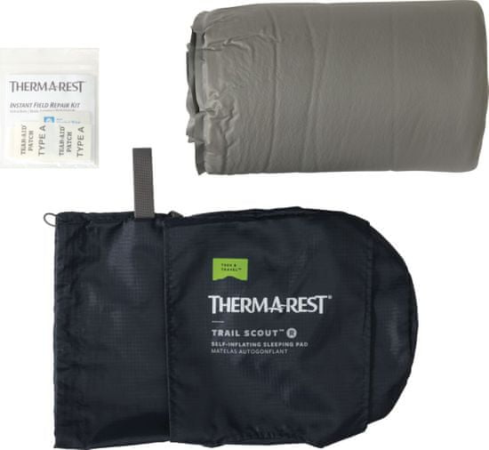 Therm-A-Rest Karimatka Trail Scout 2020 Gray L