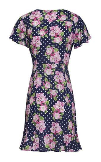 Smashed Lemon Dámske šaty 20102 Navy / Pink