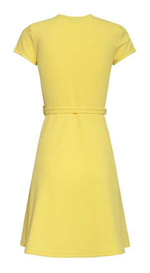 Smashed Lemon Ženska obleka 20259 Yellow