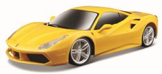 Maisto model Ferrari 488 GTB - żółty