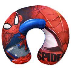 """SETINO Poduszka podróżna dla chłopca """"Spiderman"""" - 28x34cm - czerwony"""