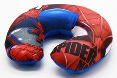 SETINO Cestovní polštářek Spiderman 33 x 28 x 8 cm