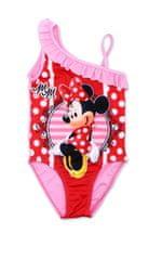"""SETINO Dekliške enodelne kopalke """"Minnie Mouse"""" - rdeča/roza - 128 / 7–8 let"""