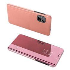 MG Clear View knjižni ovitek za Samsung Galaxy S20 Plus, roza