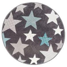 Sintelon Detský kusový koberec Pastel Kids 49/GSG kruh 120x120 (průměr) kruh