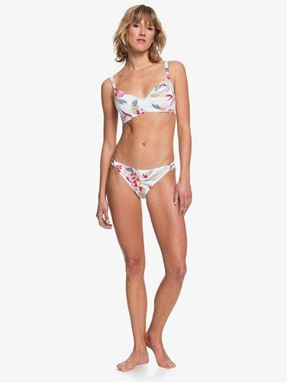 Roxy Lahaina Bay ženske Bright White Tropic Call spodnje Bright White Tropic Call S ERJX403888-WBB7