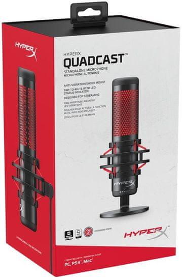 HyperX HyperX Quadcast mikrofon