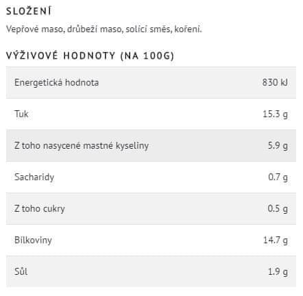 Hamé Hamé Bravčové vo vlastnej šťave 16 × 125 g