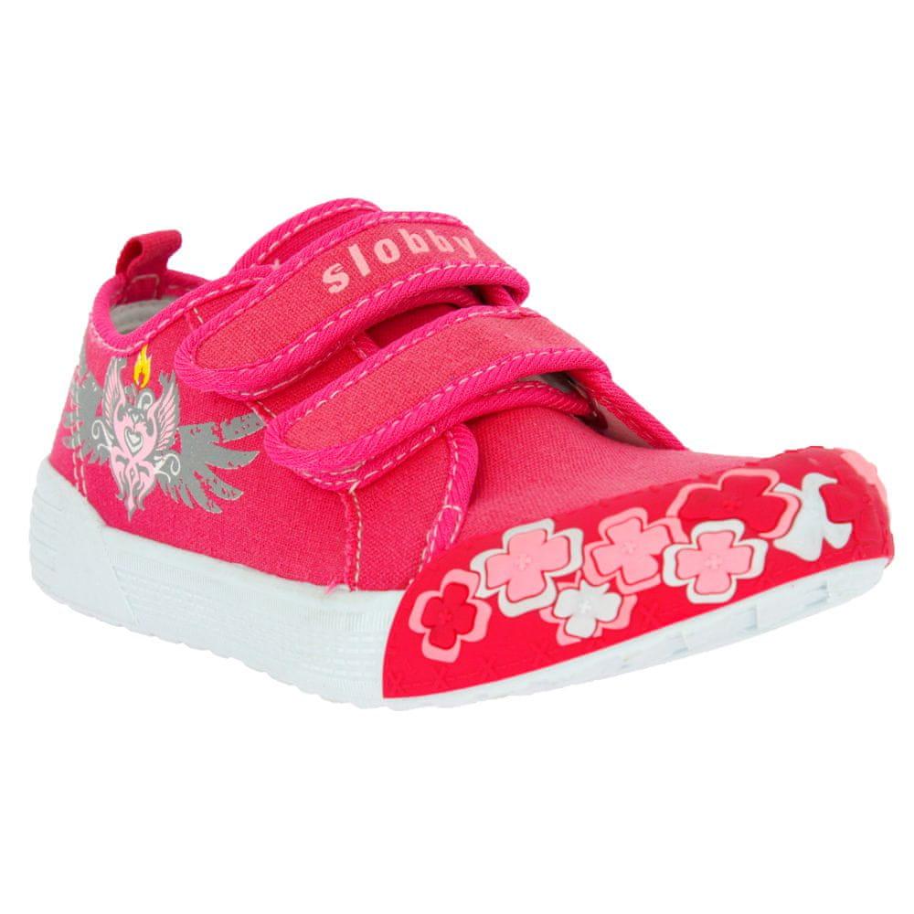 V+J dětská obuv 43-0507-S1 33 růžová