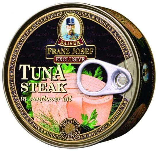 Franz Josef Kaiser Franz Josef Kaiser Exclusive Tuniak steak v slnečnicovom oleji 24 × 170 g