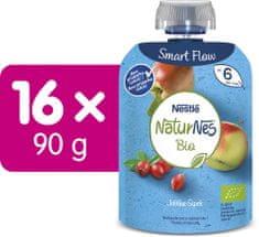 Nestlé NATURNES BIO kapsička Jablko Šípek 16x90 g