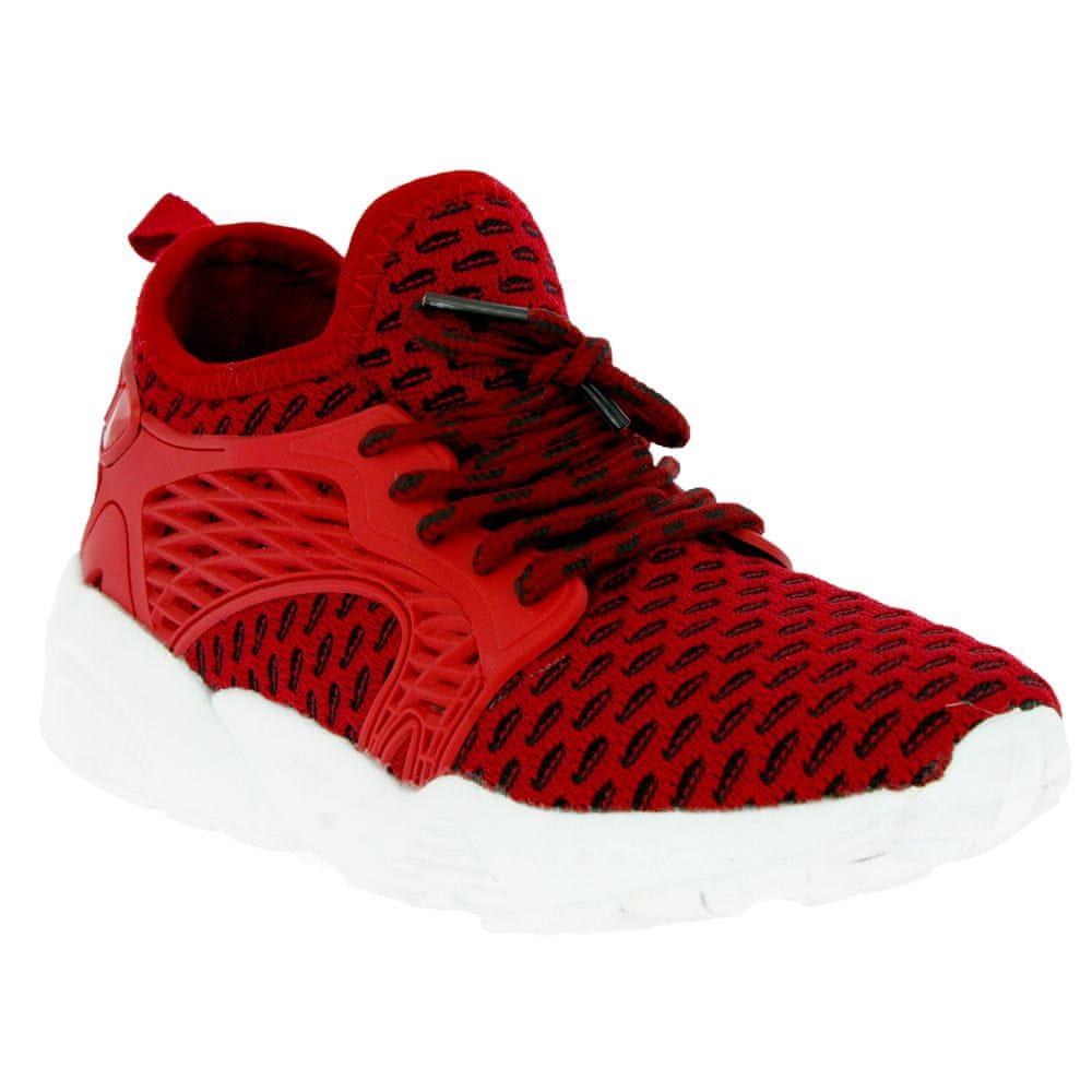 V+J dětská obuv 132-0028-S1 33 červená
