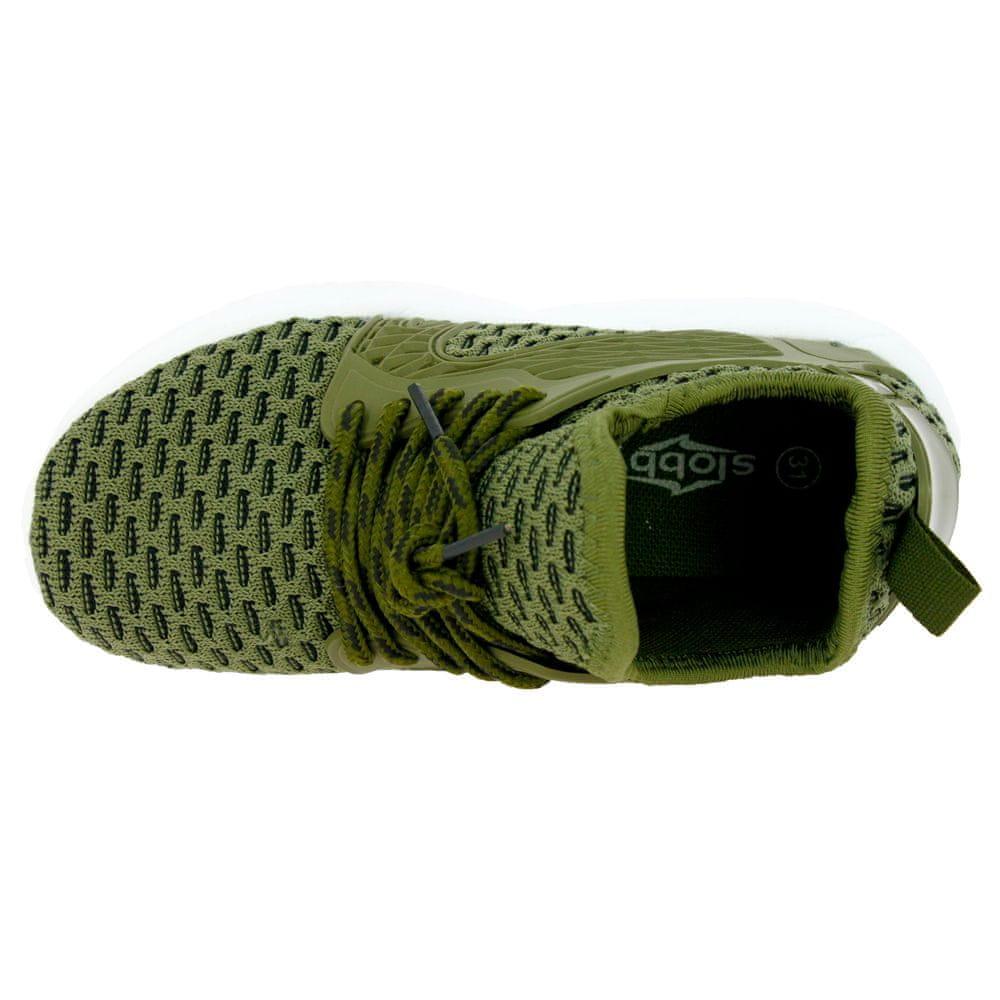 V+J dětská obuv 132-0028-S1 33 zelená